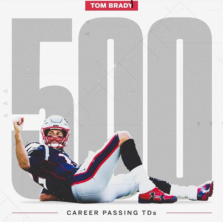 test Twitter Media - Woahh! The 🐐 strikes again! Congrats Tom Brady on 500 Career Passing TD's! 🏈🔥 https://t.co/6ab5CyxemL