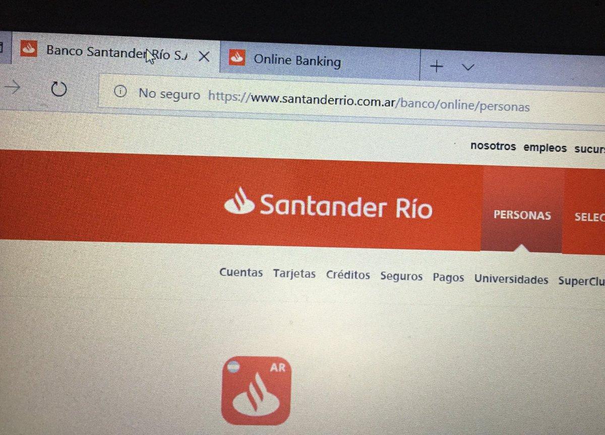 banco santander rio home banking trackid sp 006 sim home. Black Bedroom Furniture Sets. Home Design Ideas