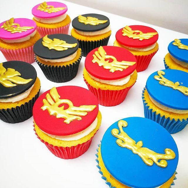 Awesome Odiham Cake Company On Twitter Power Rangers Megaforce Cupcakes Funny Birthday Cards Online Inifodamsfinfo
