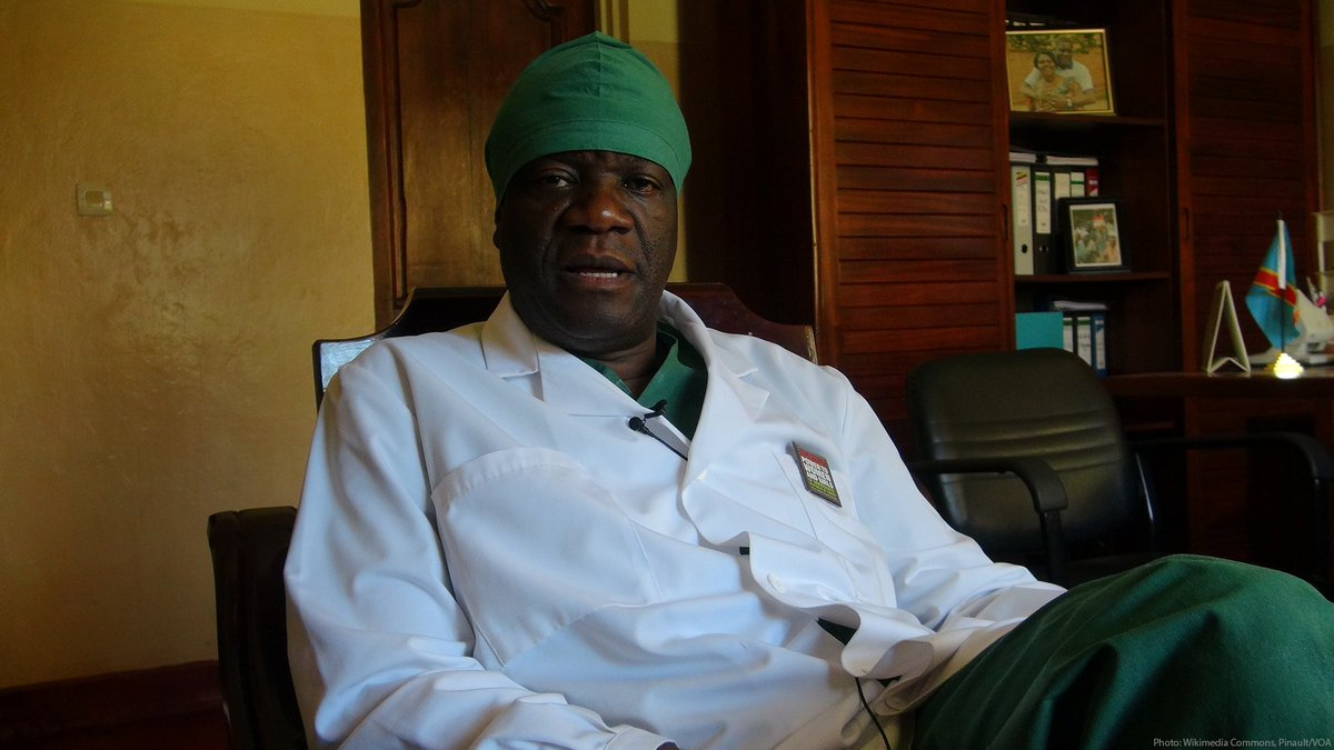 The physician Denis Mukwege, awarded the Nobel Peace Prize, has spent large parts of his adult life helping the victims of sexual violence in the Democratic Republic of Congo. Dr. Mukwege and his staff have treated thousands of patients who have fallen victim to such assaults.