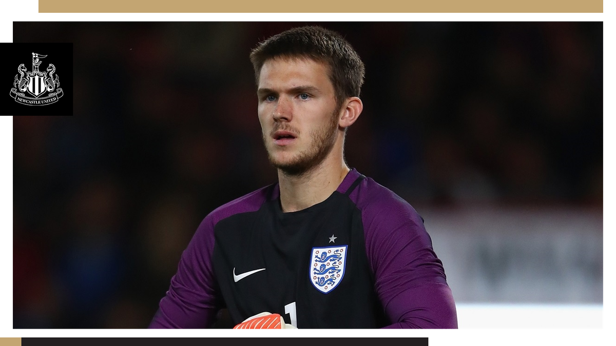 Freddie Woodman has been named in the @England Under-21 squad for their European Championship qualifying double-header this month. 👉🏽 nufc.co.uk/news/latest-ne… #NUFC