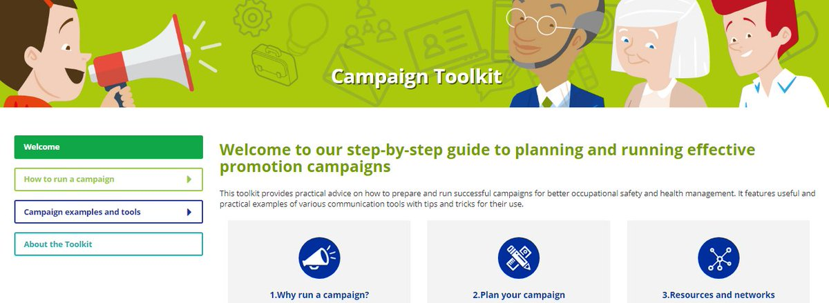 It Leads You Step By Through Planning And Managing An OSH Awareness Campaign Bitly 2zBVwJ2 EUhealthyworkplacespictwitter EgVMOAvvJT
