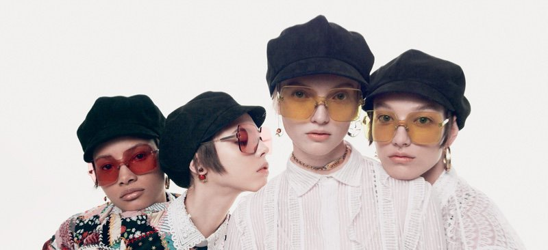 Ruth, Lineisy, Lea & McKenna Wear Chic Shades for #Dior Magazine @Dior https://t.co/E57W4s8cAJ