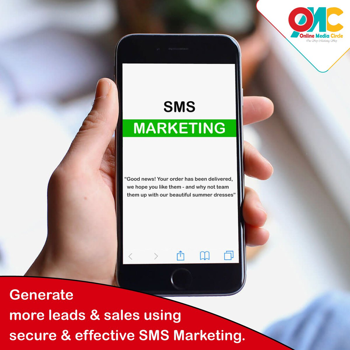 Generate more leads & sales using secure & effective SMS Marketing.  #BrandedSMS #SMSMarketing #SMSPromotion<br>http://pic.twitter.com/wE6DFd9BGB