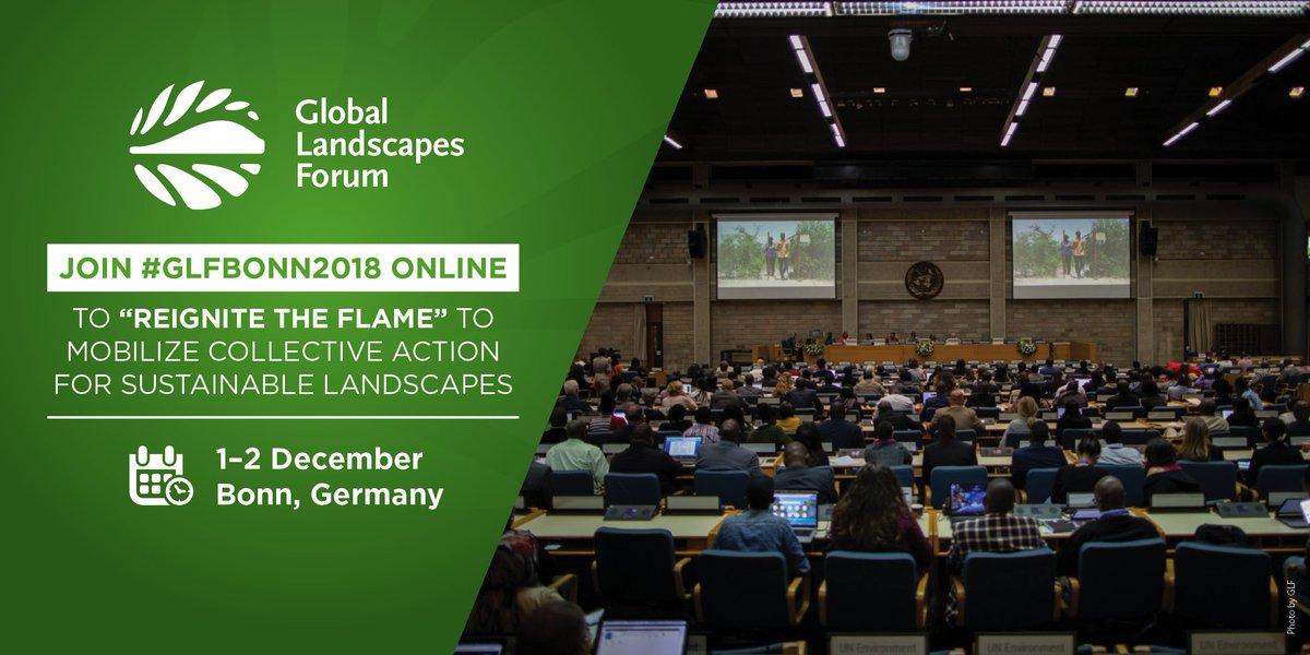 Global Landscapes Forum (GLF) on Twitter: