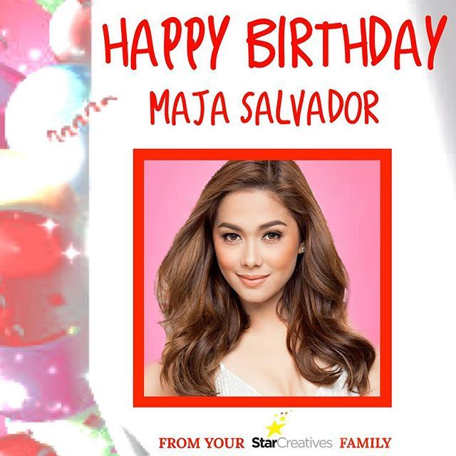 Happy Birthday Maja Salvador from your Star Creatives Family!