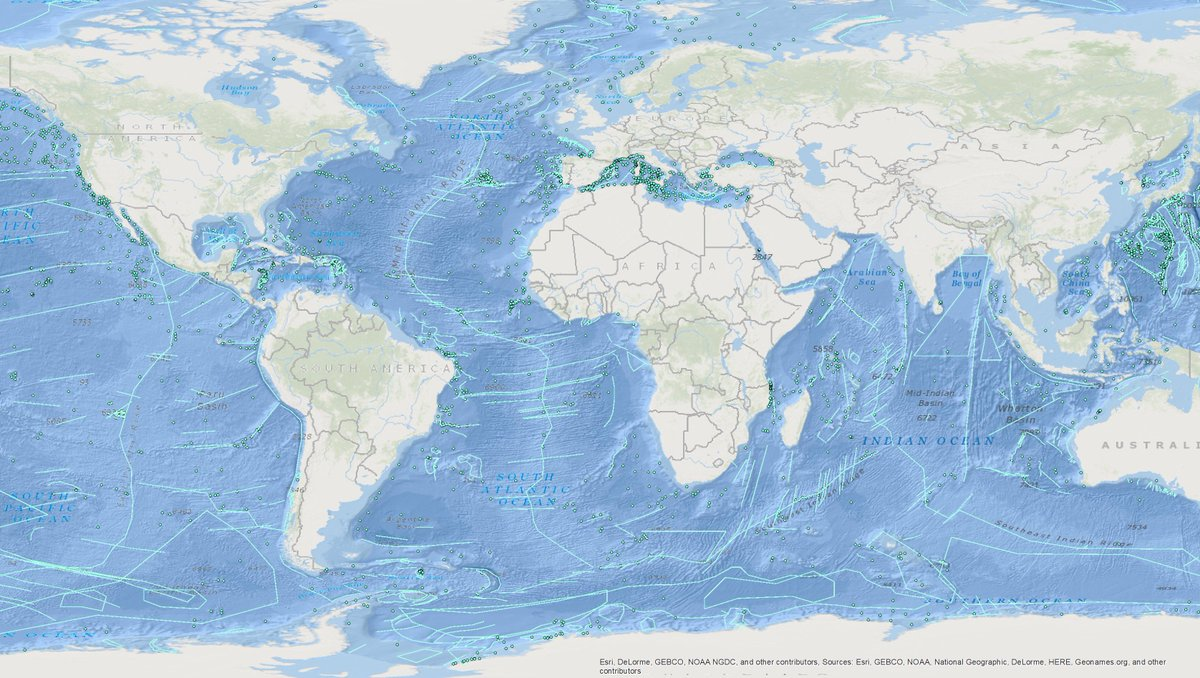 Marine Regions On Twitter The Work From Gebcobathymetry