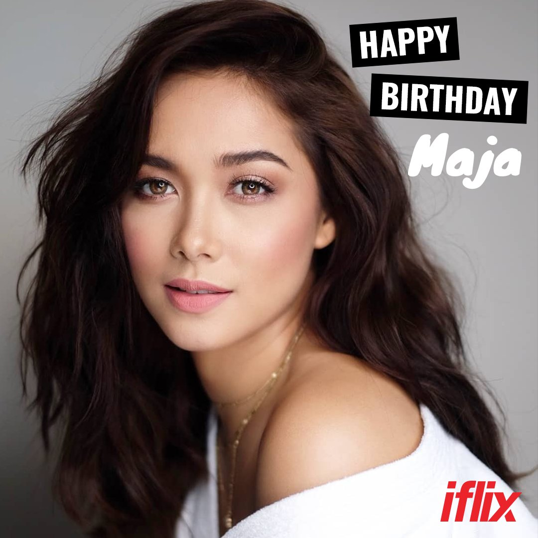 Happy birthday to the award-winning and very talented Maja Salvador!