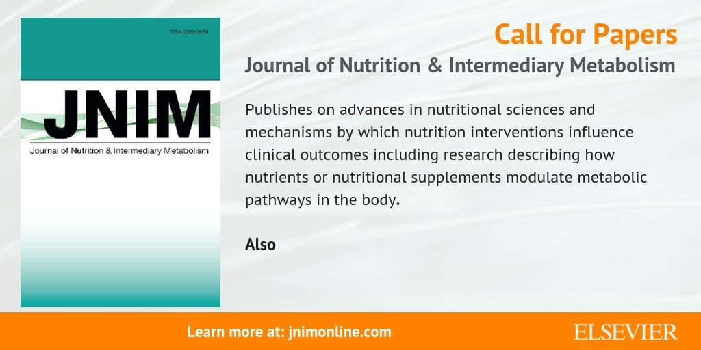 Elsevier Nutrition on Twitter: