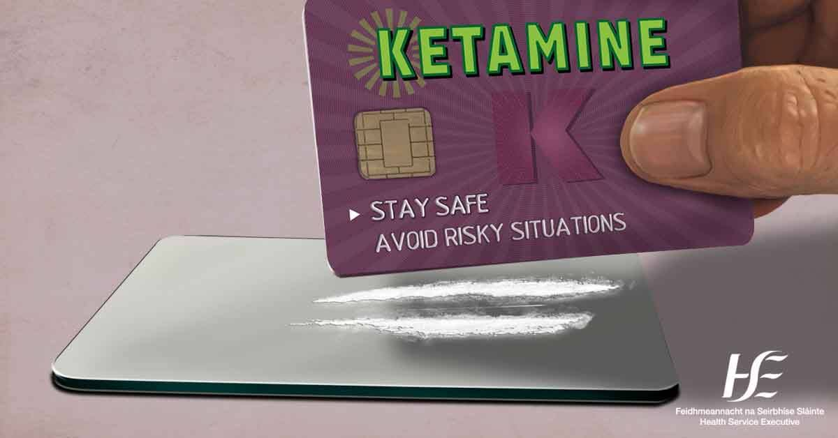 """HSE Drugs.ie on Twitter: """"Our #WhatAreYouTaking campaign reminds people it's always safest not to take drugs. But if you choose to take ketamine this weekend, follow our harm reduction information https://t.co/rsB0OV27Wo… https://t.co/gzUuaV6K18"""""""