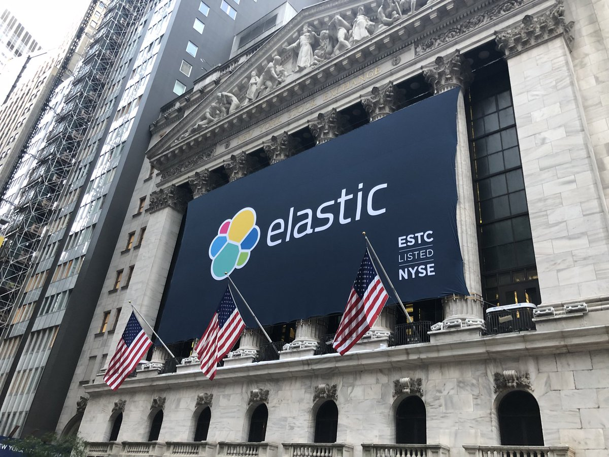 Shares in Software Maker Elastic Soar 94% in First Day of Trading