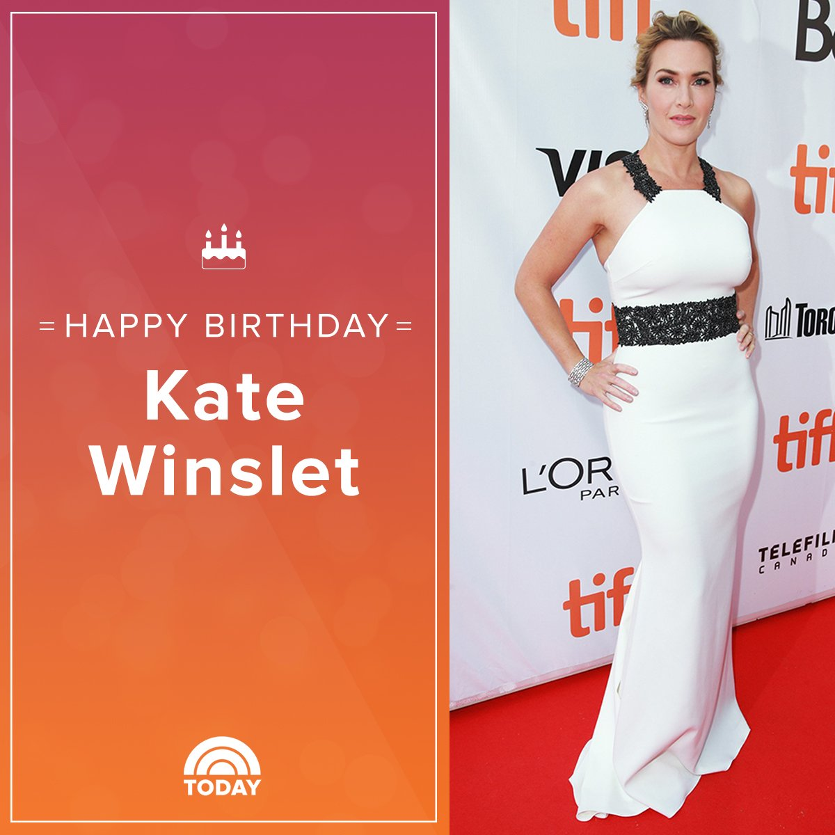 Happy birthday, Kate Winslet!