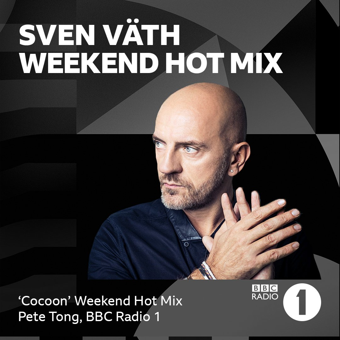 Dear music lovers, tonight you can tune in on bbc.co.uk/radio1 between 22:00 and midnight (CET) and listen to my special ' Cocoon Weekend Hot Mix', enjoy! 🔊🎶🔊🎶