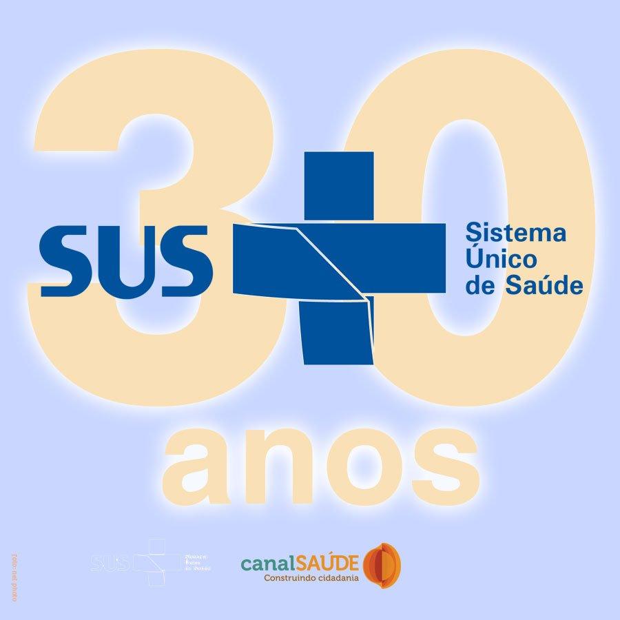 Há 30 anos, no dia 5 de outubro de 1988, era promulgada a Constituição Federal, que ficou conhecida como a Constituição Cidadã, e com ela nascia o Sistema Único de Saúde, o nosso SUS.   #SUS30anos #30anosdaConstituicao