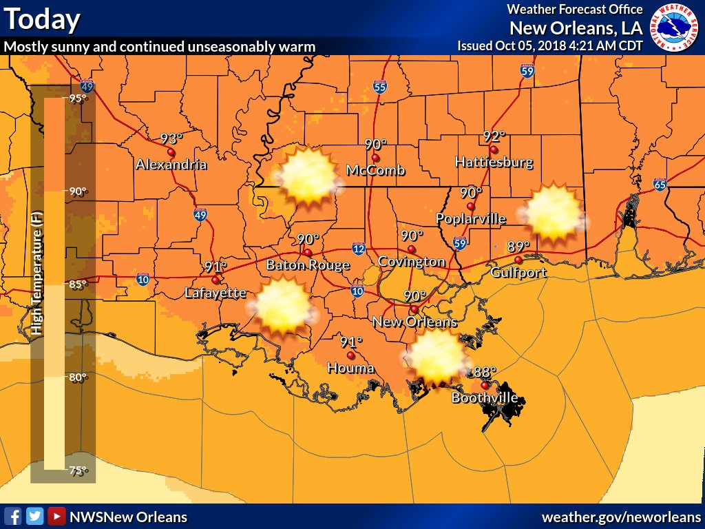 NWS New Orleans on Twitter: