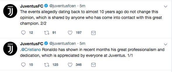 Whatever the legal outcome, this is awful from Juventus: