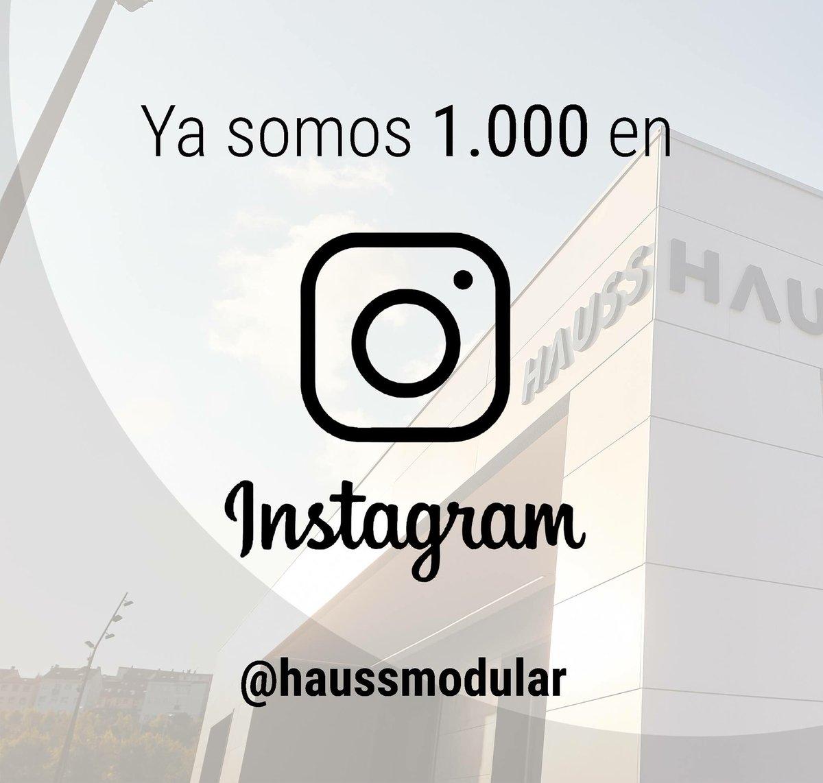 Hauss Arquitectura On Twitter Ya Somos 1 000 En Instagram