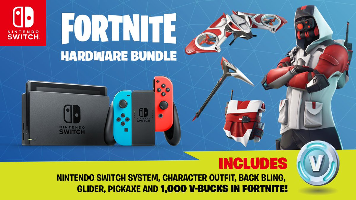 nintendo switch fortnite edition uk