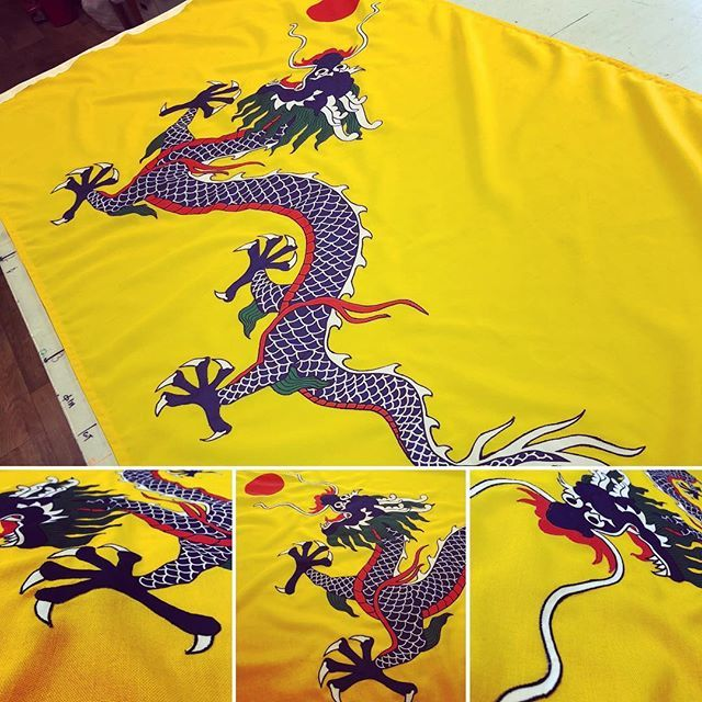 Flying Colours Flags On Twitter Sewn Applique Qing Dynasty Flag 6 X3 Roped And Toggled Qing Qingdynasty Flag Flags Madeinbritain Flyingcoloursflagmakers Handmade History Historic Dragon Yellowdragon China Chinese Https T Co Rssigxuffw
