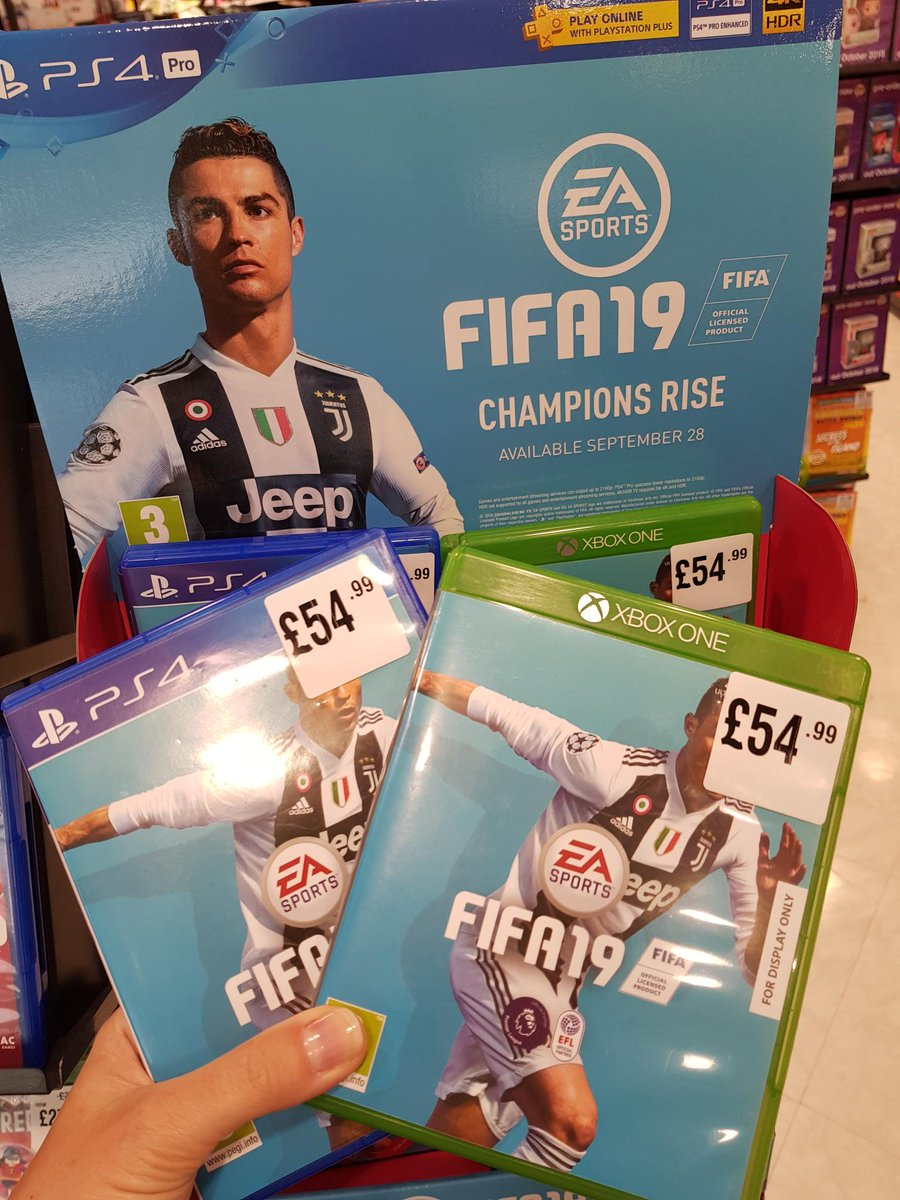 #freebiefriday #win #competition #friyay time!  FIFA 19 is out now at @hmvWolves and features @Wolves We have a copy to win (choose  PS4 or XboxOne) just like this post, RT and tag your team mates below! Winner will be chosen at random on Friday 12th October at 9am. <br>http://pic.twitter.com/JwgErIKjXZ