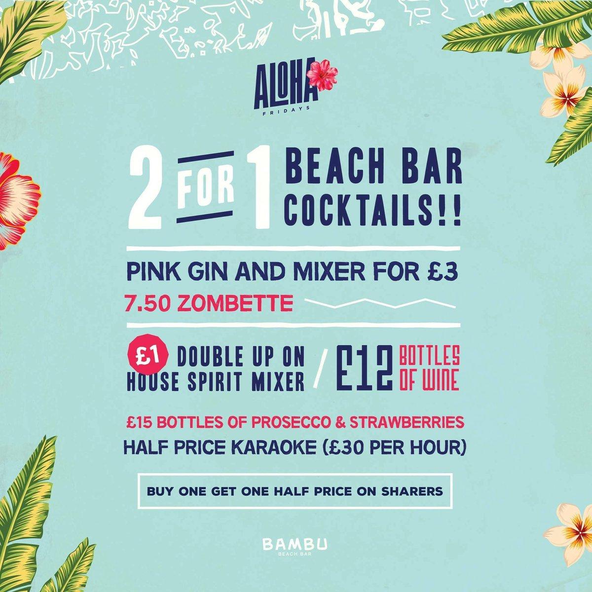 Bambu Beach Bar on Twitter: