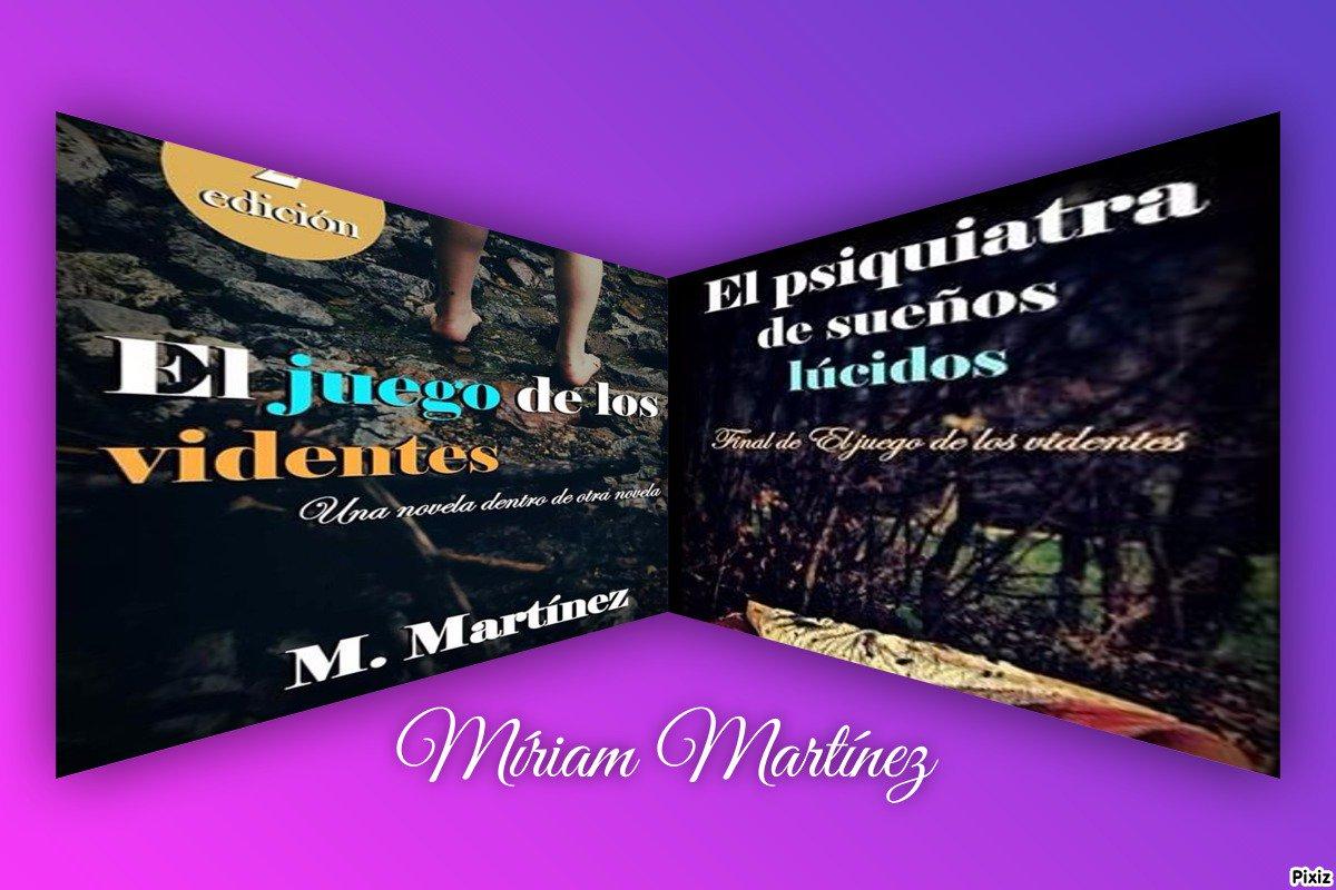 'EL PSIQUIATRA DE SUEÑOS LÚCIDOS' & 'EL JUEGO DE LOS VIDENTES' Dos joyas de  la literatura, por @nvmmartinezpic.twitter.com/XeO3ua1oH5