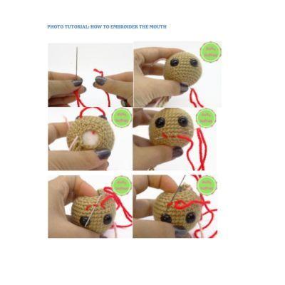 shiba cane amigurumi 4 - magiedifilo.it punto croce uncinetto ... | 400x400
