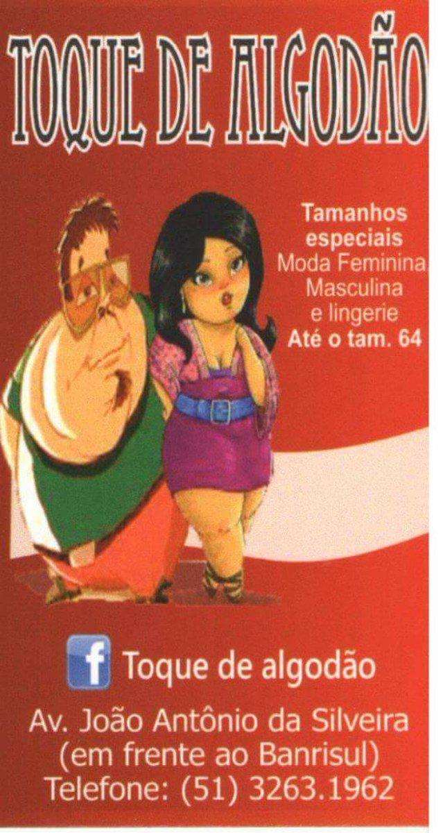 ee1c48c64 ... ALGODÃO http   www.facebook.com toquealgodao Acesso R