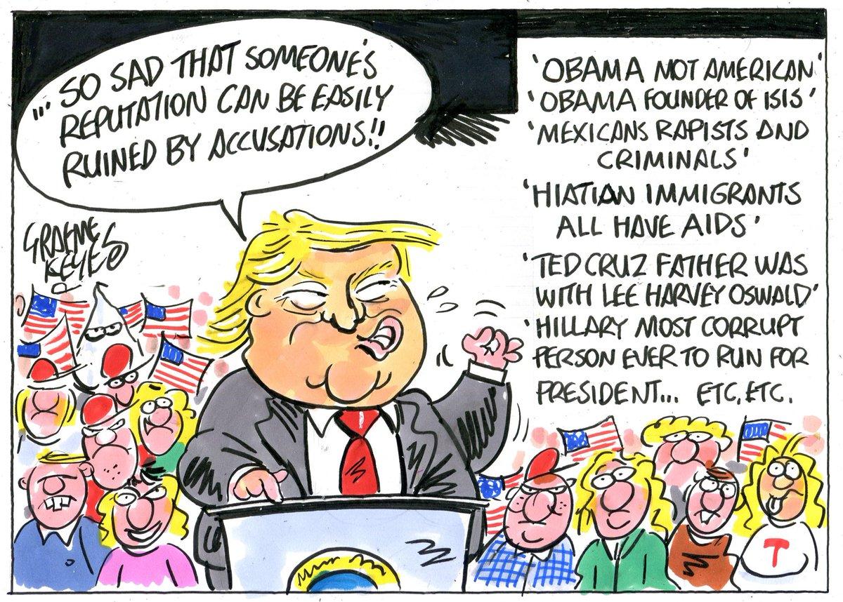 Image result for Trump cartoon October 2018
