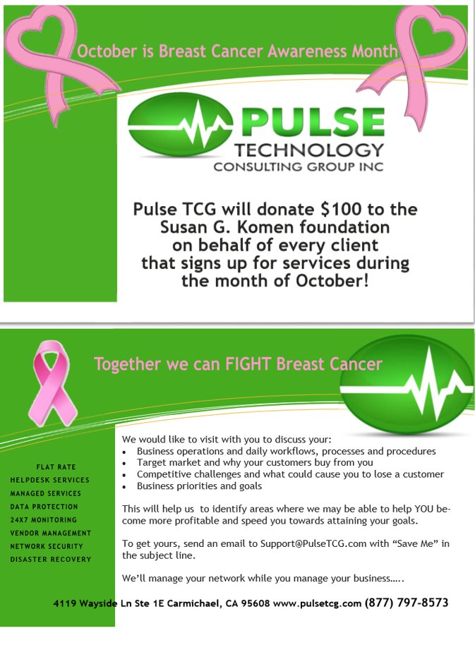 0dbab7c93360f Check out our promotion for  BreastCancerAwarenessMonth. For every client  that signs up with