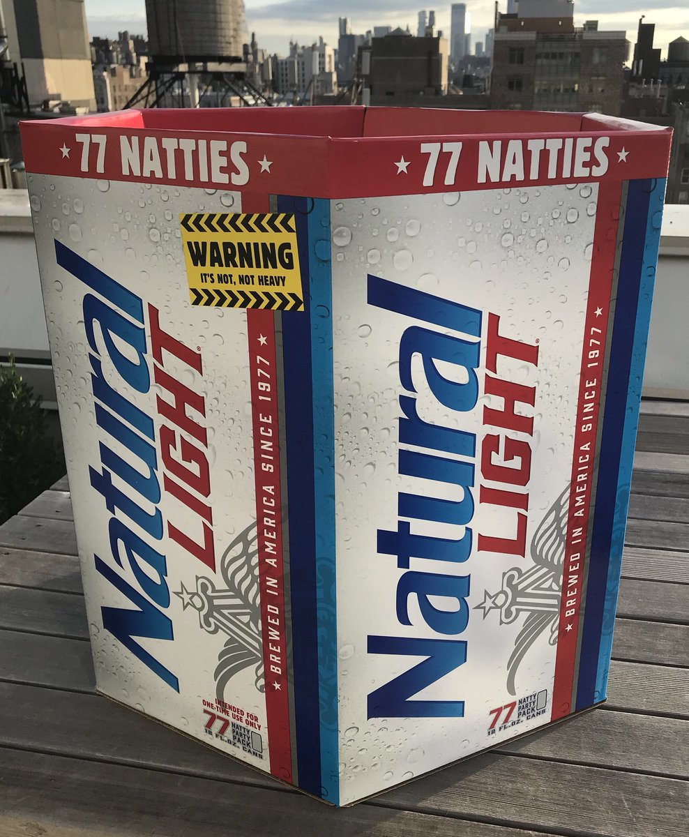 Behold! The New 77-Pack Of Beer From Natural Light