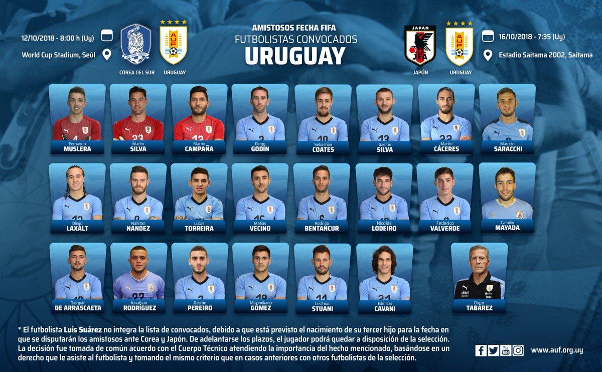 Luis Suárez no estará con Uruguay ante Corea del Sur y Japón