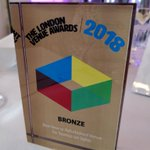 Congratulations to @SixStoreys for winning the bronze award for Best New or Refurbished Venue. #LVA18