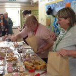 Successful cake sale after our reading session, thank you FOWIS for organising this.