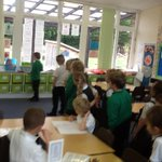 #Democracy Fir class voted on which story they would like the adult to read.  Some of our children enjoyed telling their grown ups all about this during our child/parent reading session. #getcaughtreading