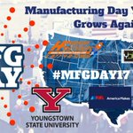 Flashback Friday Manufacturing Day in Youngstown, OH 2️⃣0️⃣1️⃣7️⃣! https://t.co/atI3GWCOe6 @YSU_STEM @AmericaMakes @ybiTweets @HudsonFasteners @CityofYOU   #mfgday17 #mfgday18 #flashbackfriday #manufacturing #3DPrinting