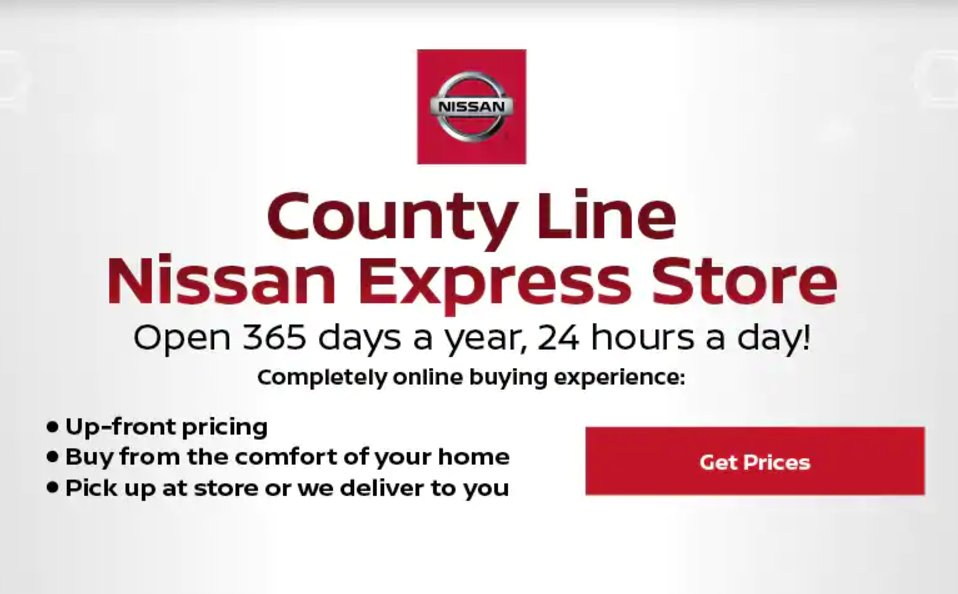 Via Our County Line Nissan Express Store, You Can Complete The Entire  Process From The Comfort Of Your Home! Shop Express: Https://bit.ly/2pExVl8  ...