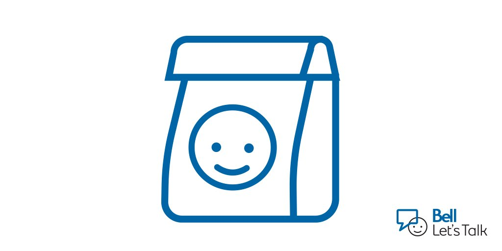 In honour of #MIAW18, what do you say we talk about what's on your mind over lunch? #BellLetsTalk