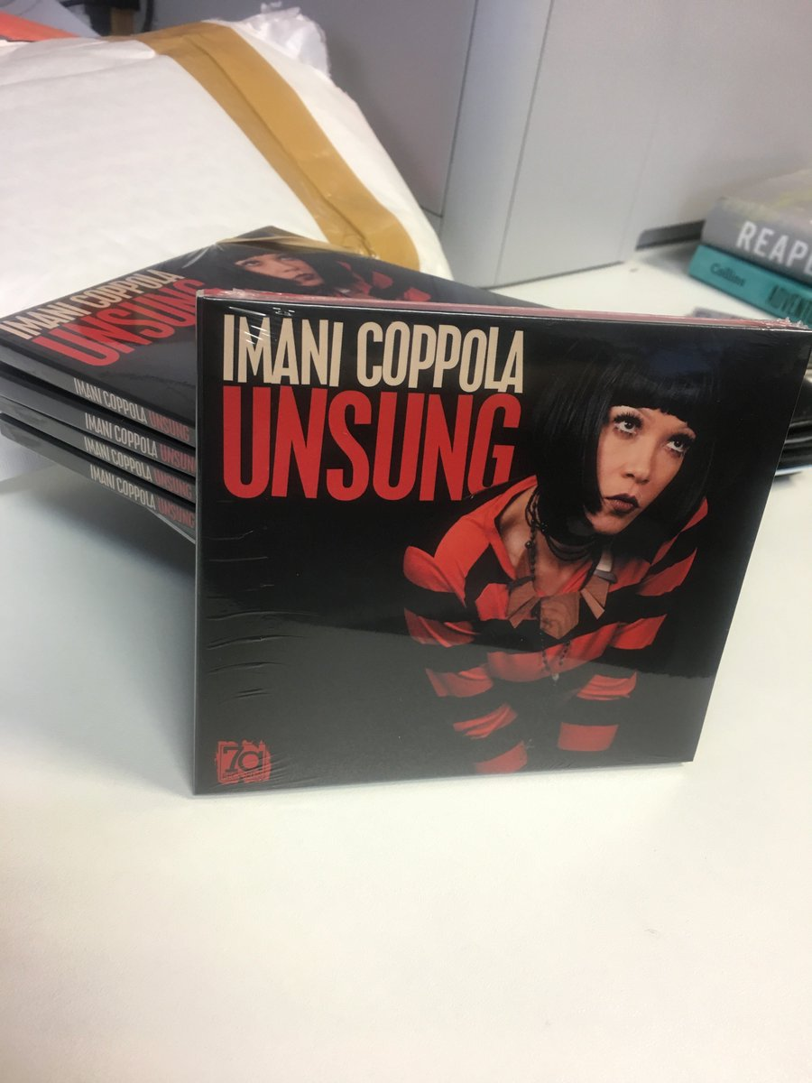 So this is a real thing! Who wants to win a copy? RT this tweet and I'll pick someone to get a free copy of the fab new @ImaniCoppola compilation 'Unsung'  Or you can buy it here https://t.co/S2xQlCeTcG