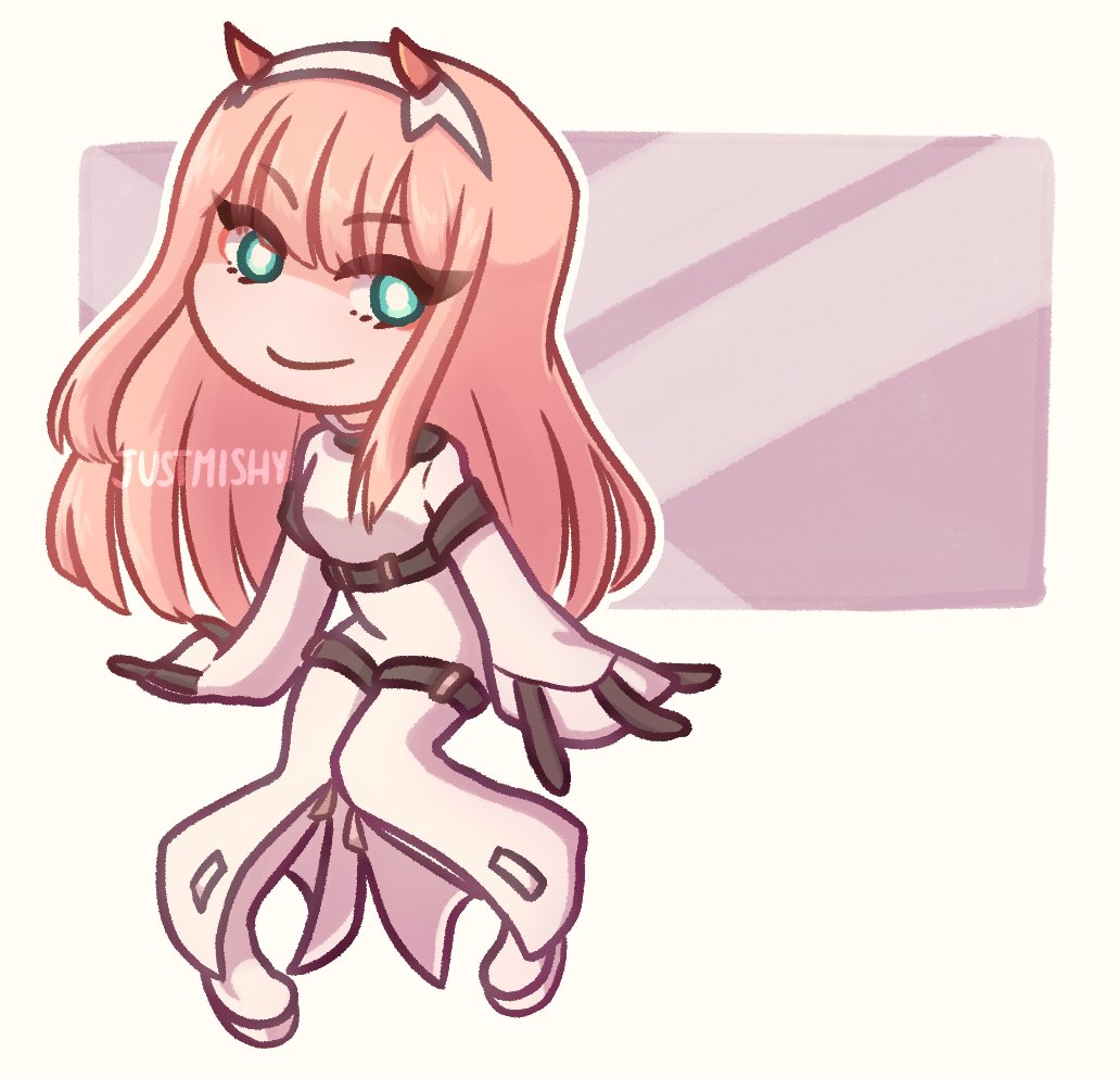 aaa this was a fun commission to draw!  #ZeroTwo #DarlinginthefranXX #CodeGeass #CodeGeassCC #Commissions #Commission