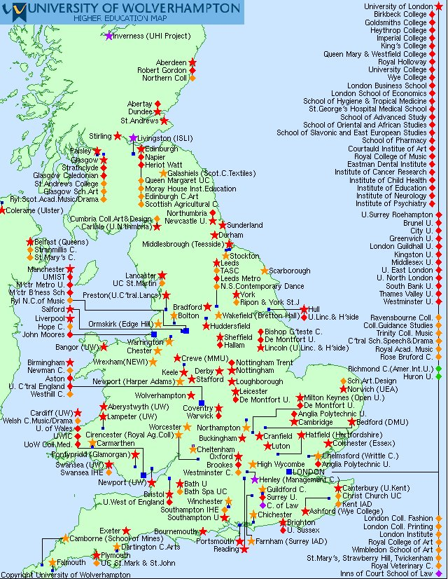 universities in england map Louis M M Coiffait On Twitter Is There A Better Map Of Uk