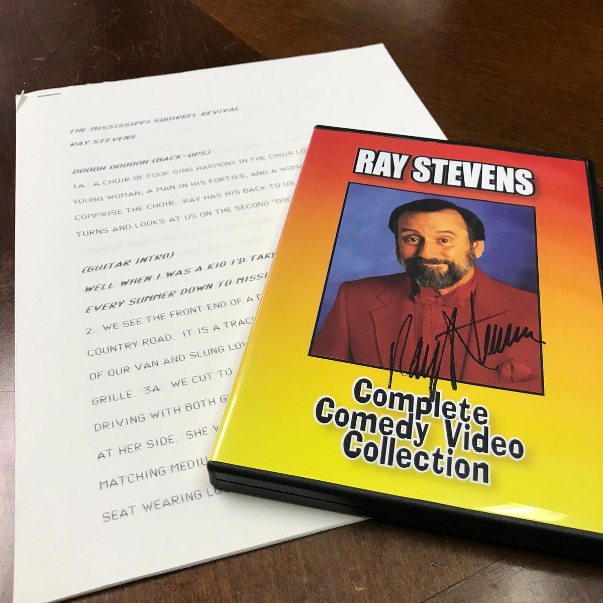 video collection dvd both autographed by ray stevens only 2 weeks left to make this item yours httpsbitly2pfkuhw pictwittercomris7mbdeay - Ray Stevens Christmas Songs
