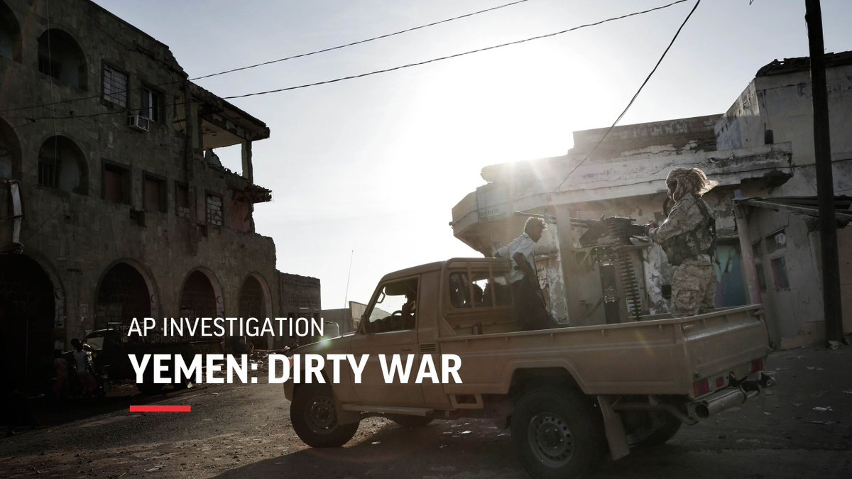 Three years into Yemen's civil war, and the results are disastrous. @AP journalists explore the military and cultural forces that have kept an entire nation hostage to violence. Follow them on their travels: http://apne.ws/coikuVe