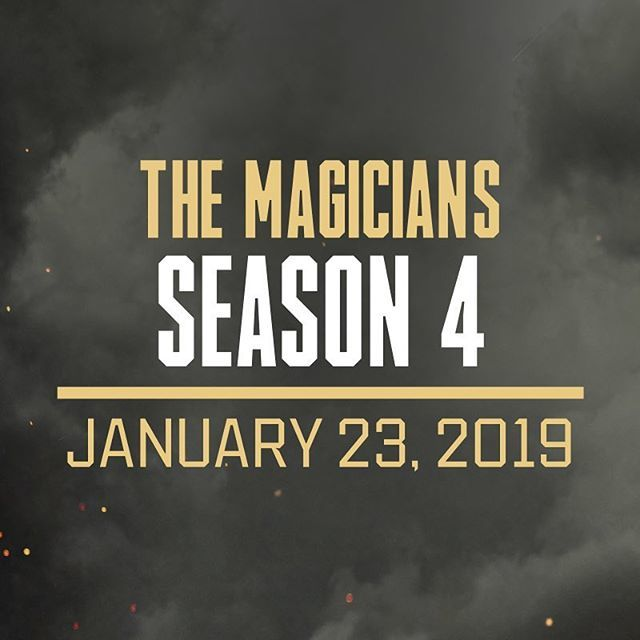 Who's ready for more magic? 👑🦄🌙🔮⚔️🎥🗝✨ #TheMagicians #Season4 ift.tt/2IE4bxi