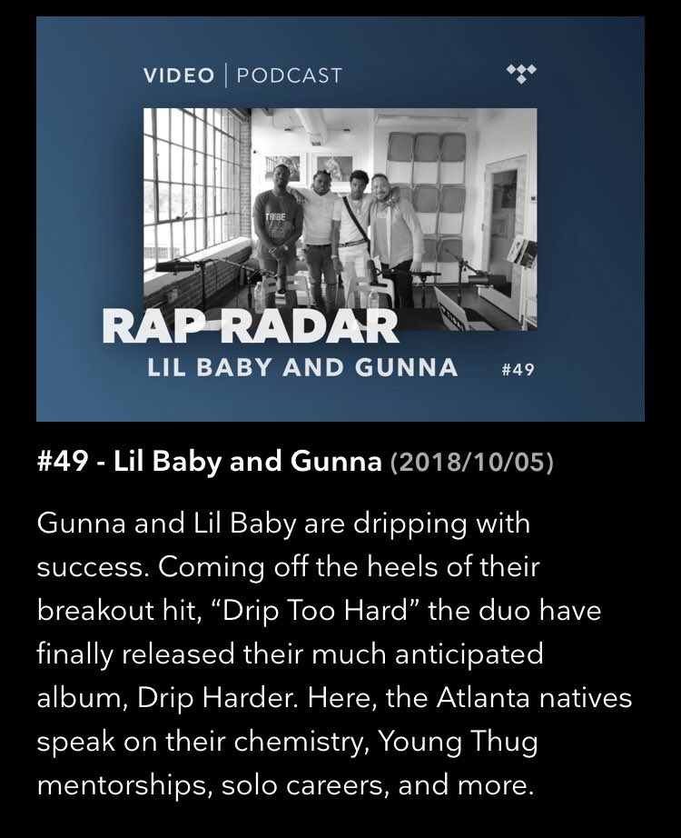 today on the #rapradarpodcast it's @lilbaby4PF x @1GunnaGunna! https://t.co/oGWM7PDC1C https://t.co/EG2n90uIkf