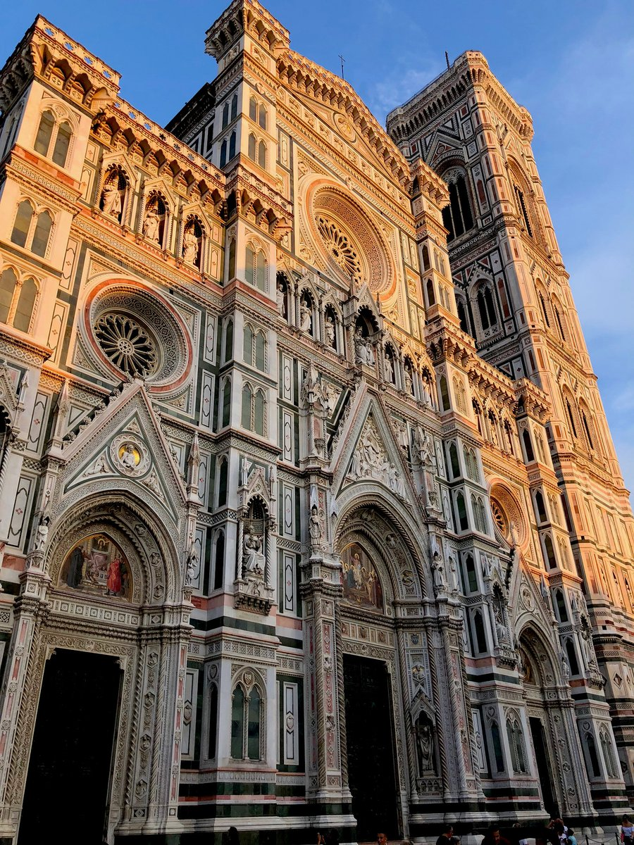 Santa Maria del Fiore, Florence via @Dorissays #travel #florence #italy #beautyfromitaly https://t.co/7dzRuAkgVp