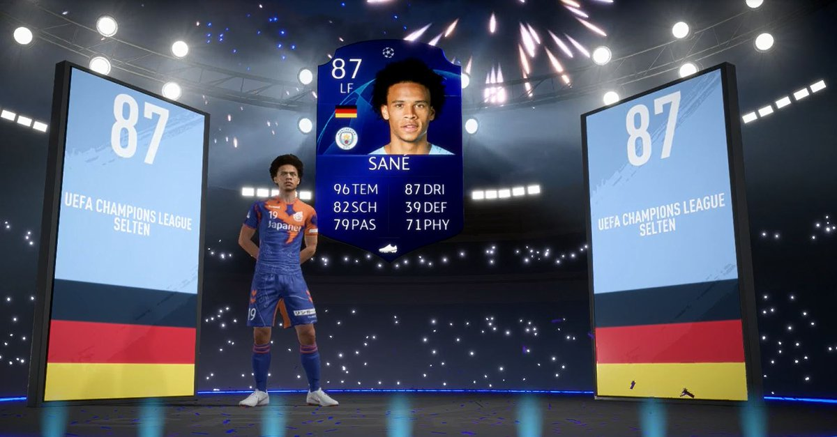 Just packed this Beast in my last UCL-Upgrade player Packs!!😱😱 #FIFA19 #FUT @Nick28T @NepentheZ
