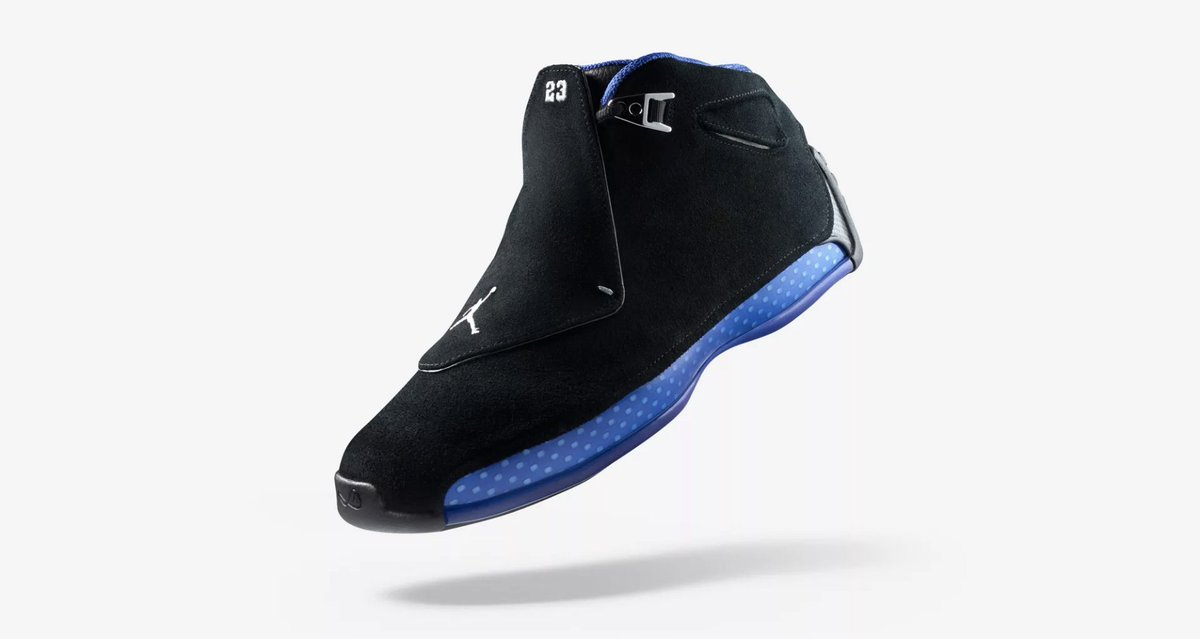 1470c10e7d6840 Back in original fashion for the first time ever! The Air Jordan 18 Retro  OG in