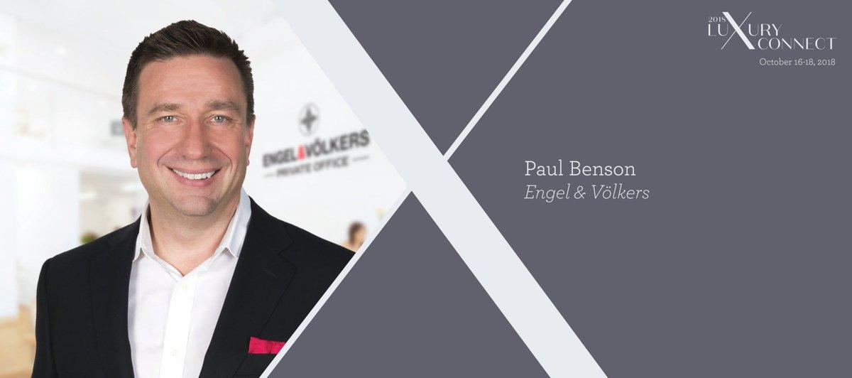 Luxury Connect: Paul Benson on how to create a luxury feeder market bit.ly/2PflLuf
