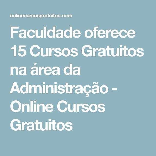 Online Cursos Grátis On Twitter Visite Https T Co